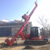 Буровая для микросвай in Micropiles mode - Drilling Solutions Москва